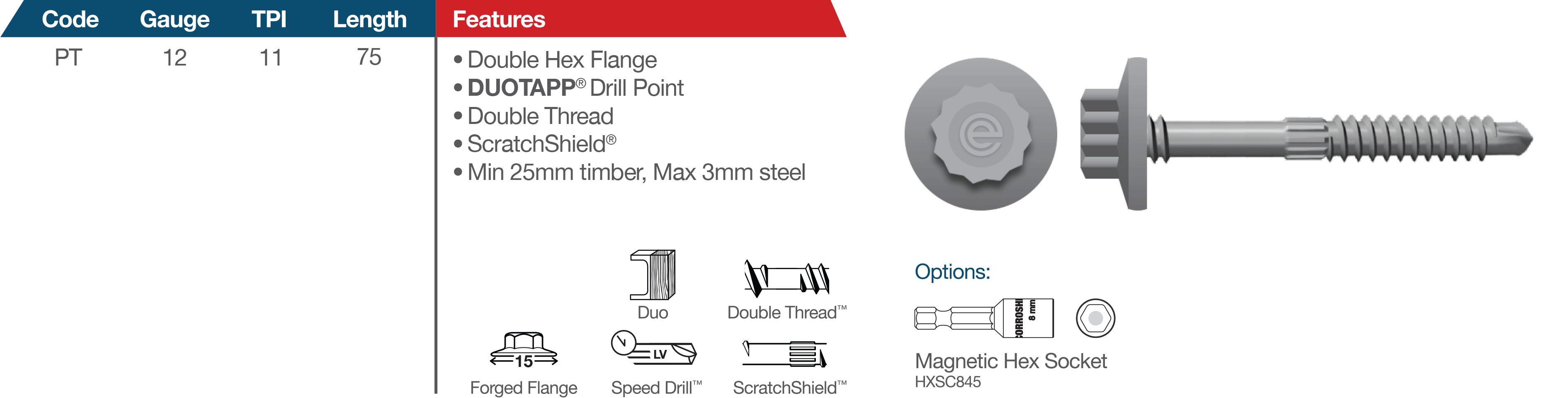 Protapp Roofing and Cladding Fasteners for Hostile Environments