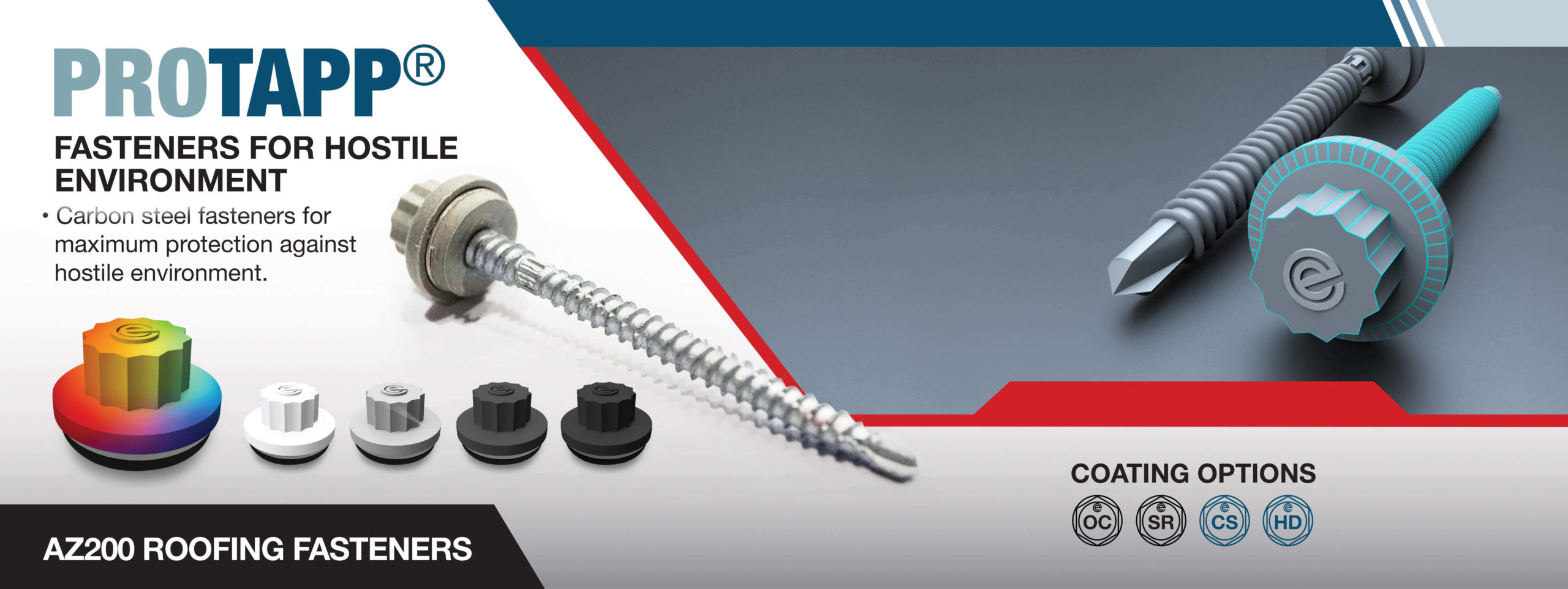 Protapp Roofing and Cladding Fasteners